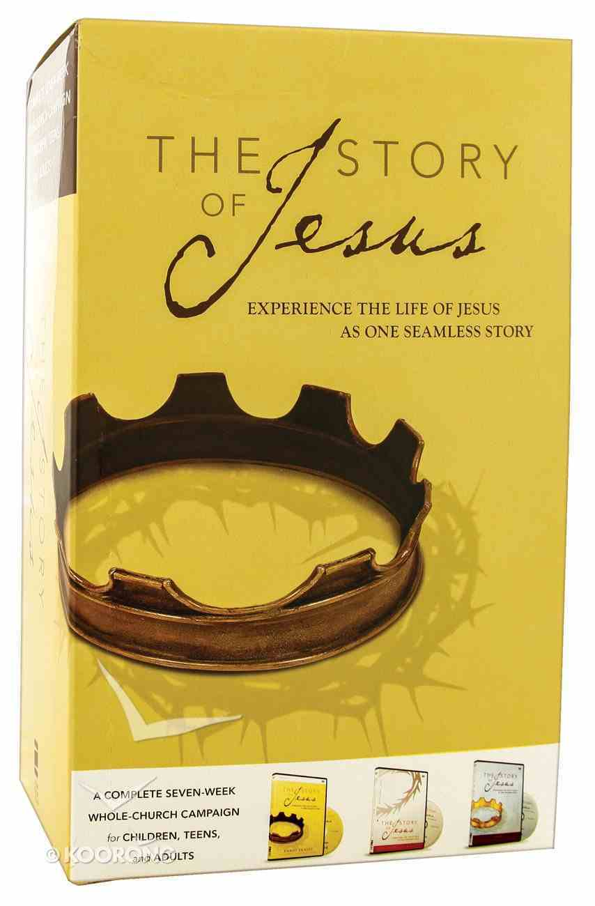 The Story of Jesus (Curriculum Kit) (The Story Of Jesus Series) Pack