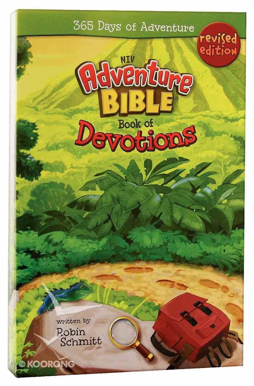 NIV Adventure Bible: Book of Devotions Paperback