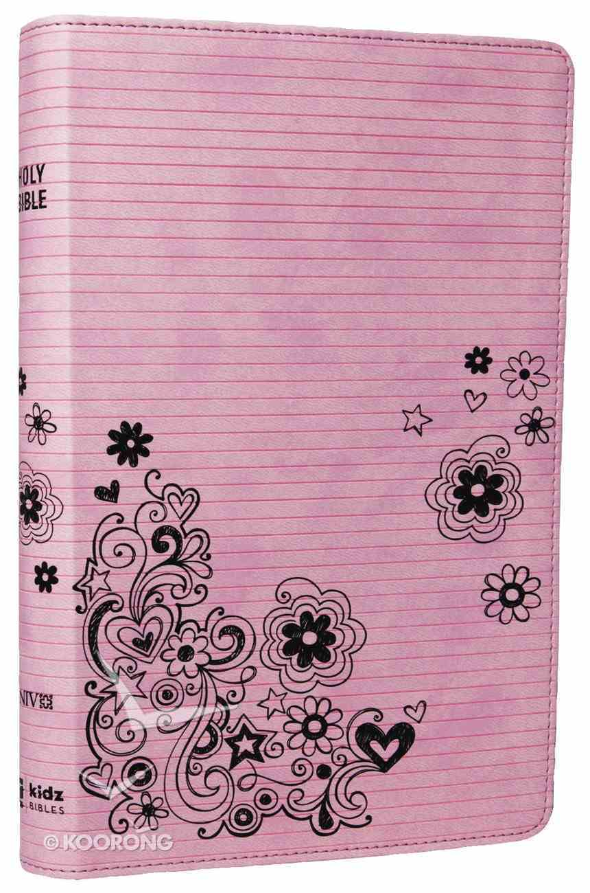 NIV Bible For Kids Pink (Red Letter Edition) Imitation Leather
