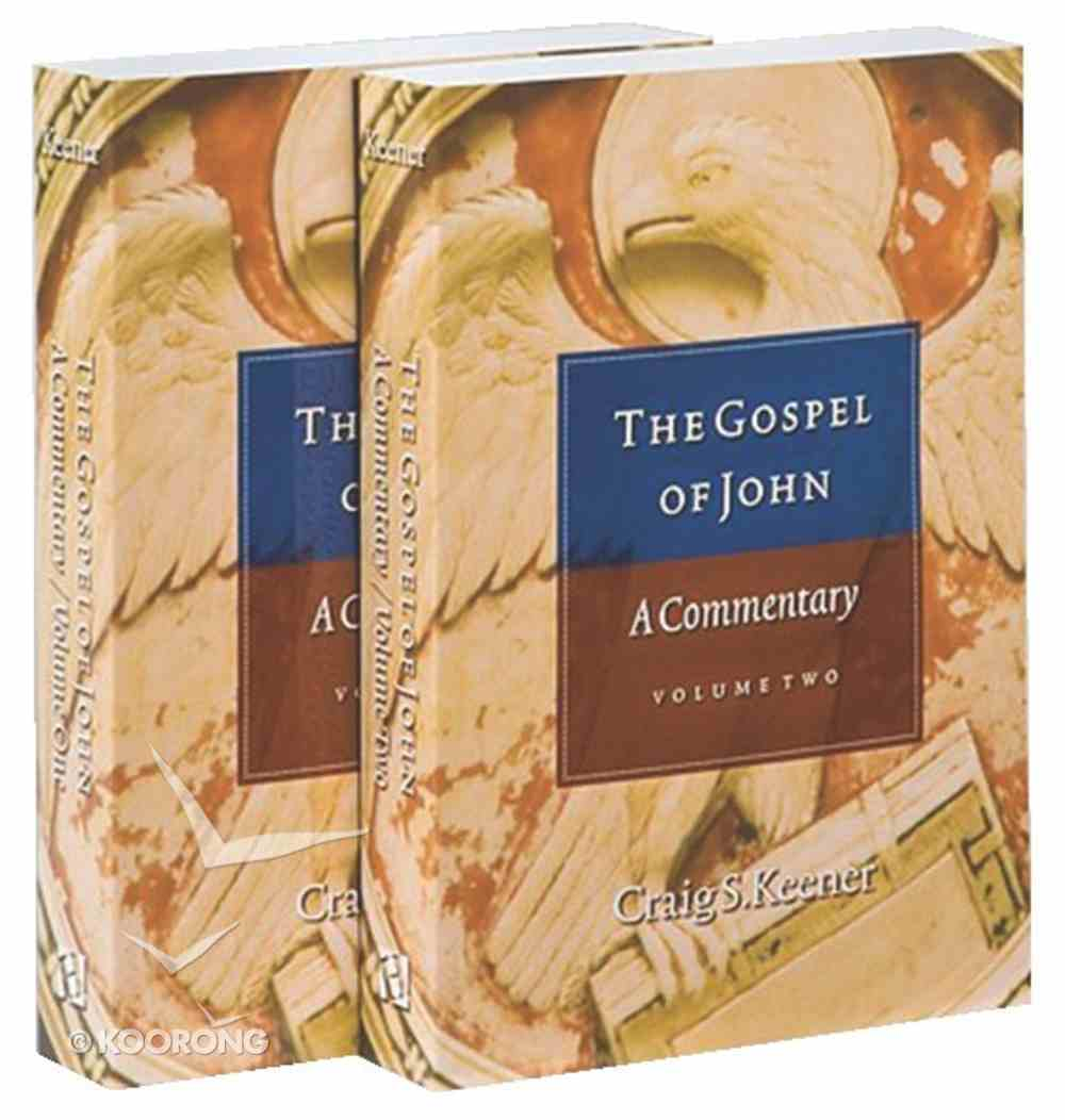 The Gospel of John (2 Volumes) Paperback