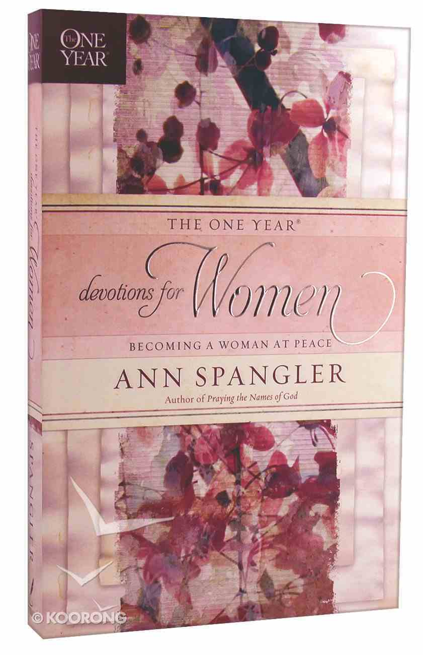 The One Year Devotions For Women Paperback