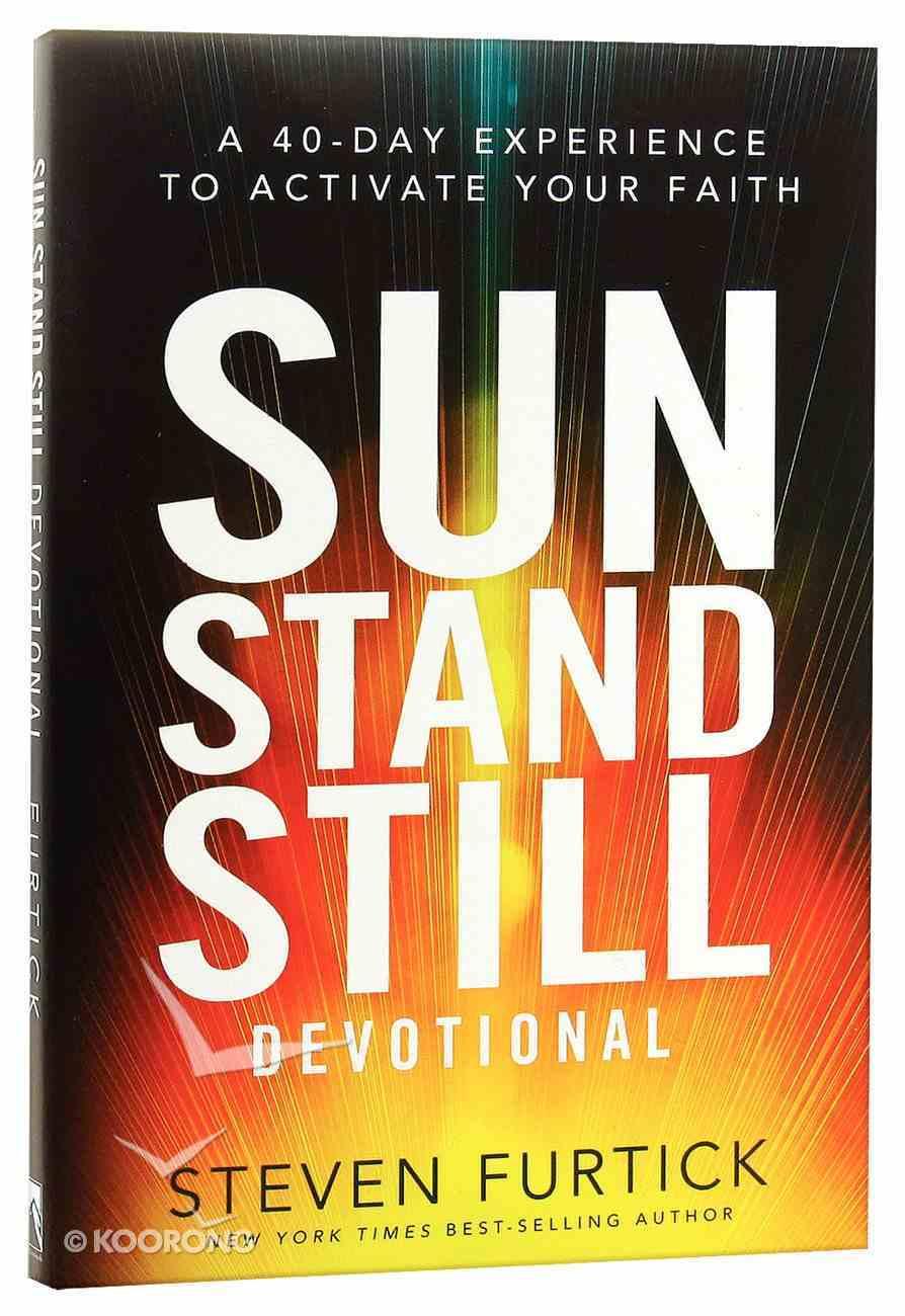 Sun Stand Still Devotional Paperback