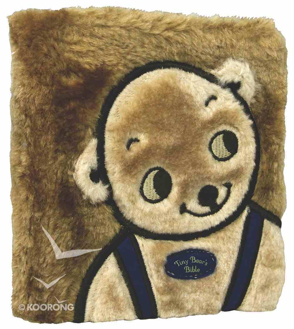 Tiny Bear's Bible (Faux Fur) (Blue) Board Book
