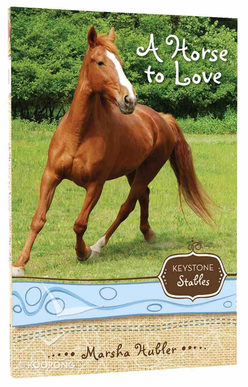 A Horse to Love (Formerly the Trouble With Skye) (#01 in Keystone Stables Series) Paperback