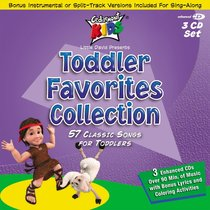Product: Cedarmont Kids: Toddler Favourites Collection 3 Cds Image