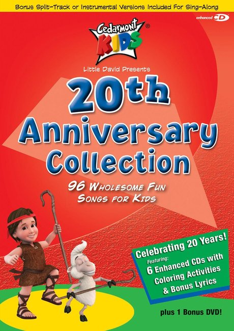 Product: Cedarmont Kids: 20th Anniversary Collection (6 Cds) Image