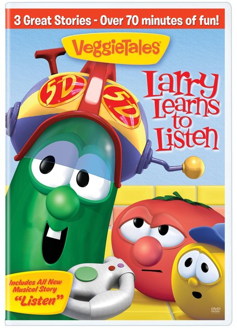 Product: Dvd Veggie Tales #44: Larry Learns To Listen Image