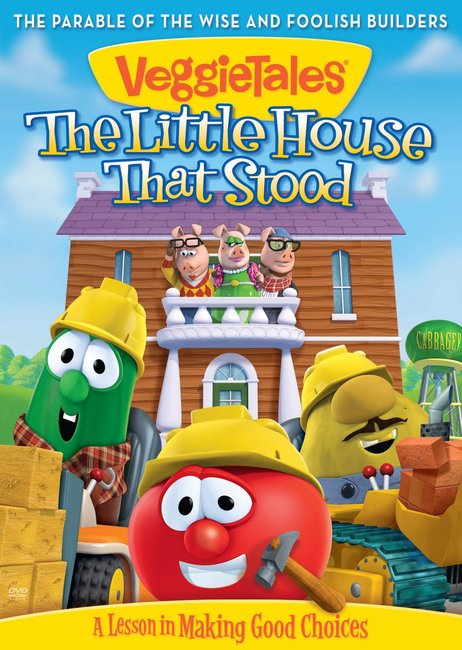 Product: Dvd Veggie Tales #52: Little House That Stood Image