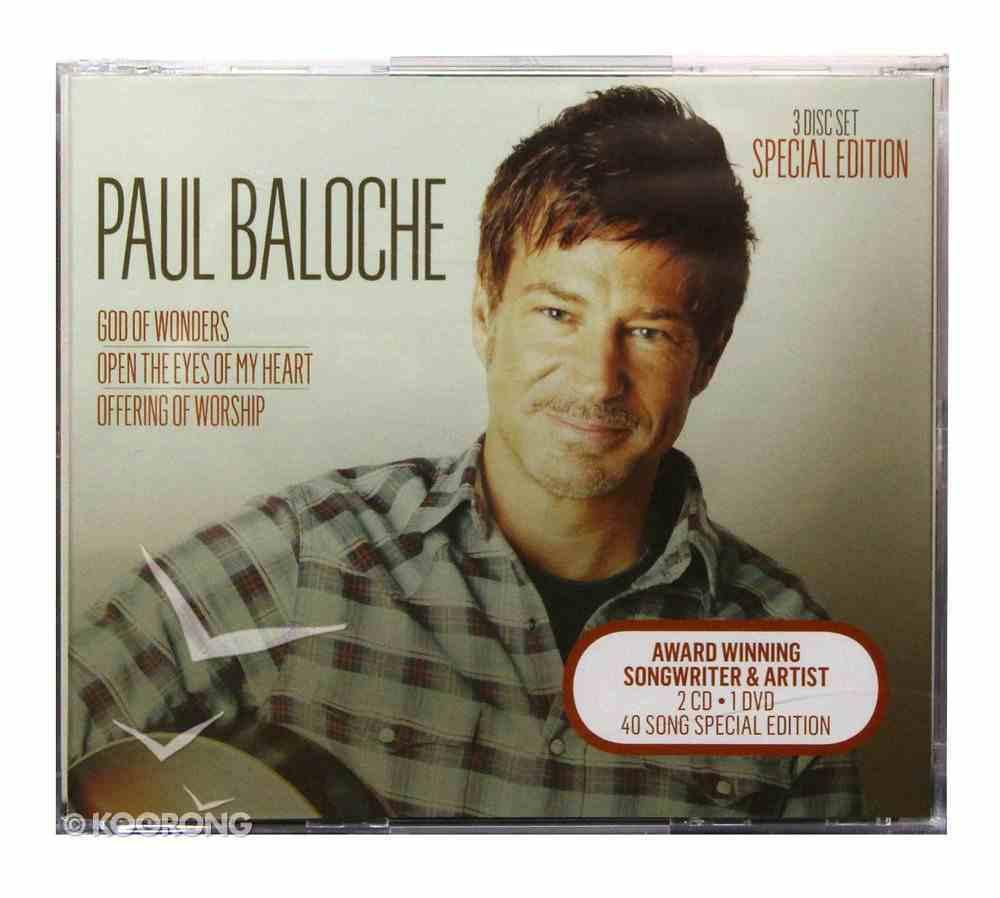 Paul Baloche Special Edition Box Set CD