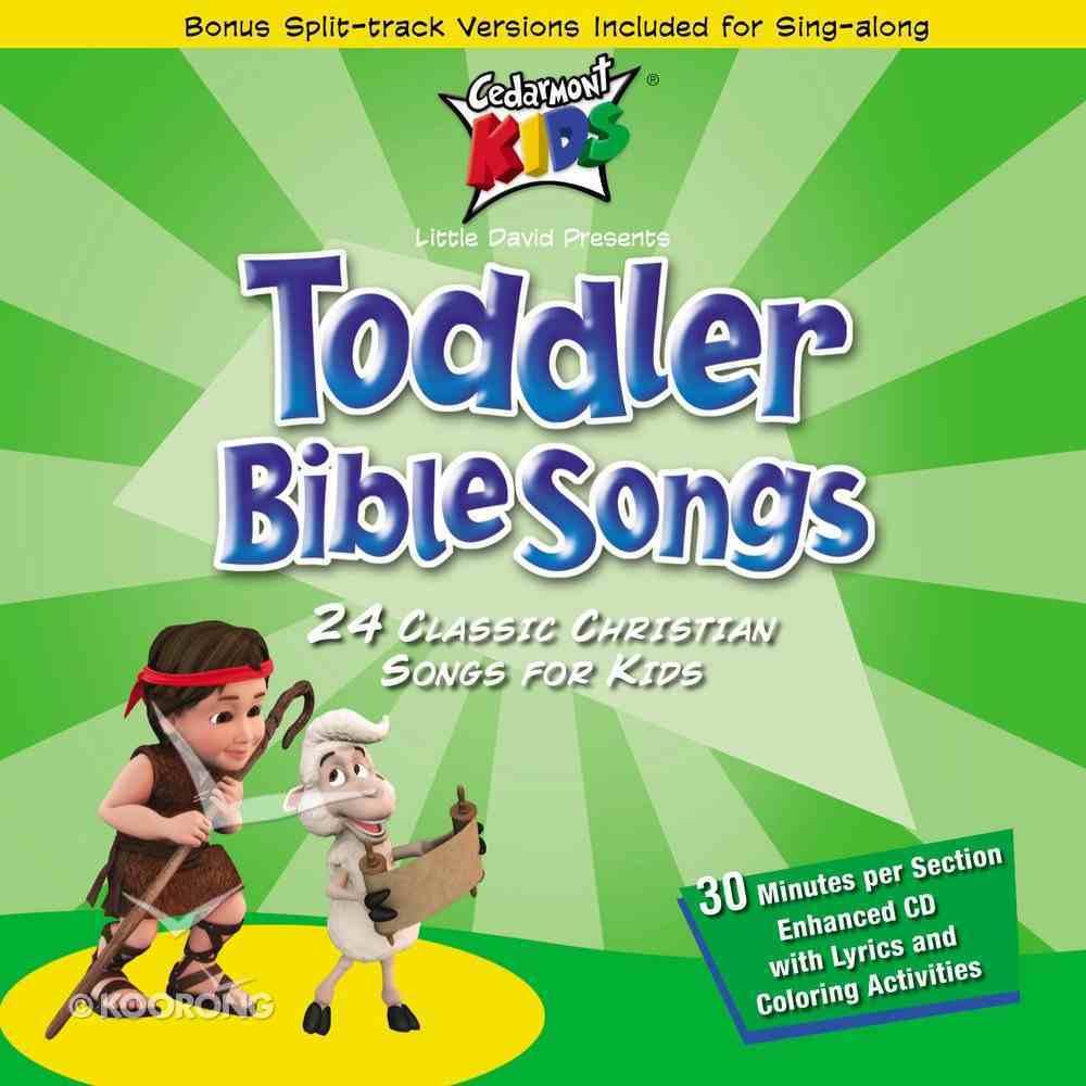 Cedarmont Kids: Toddler Bible Songs (Kids Classics Series) CD