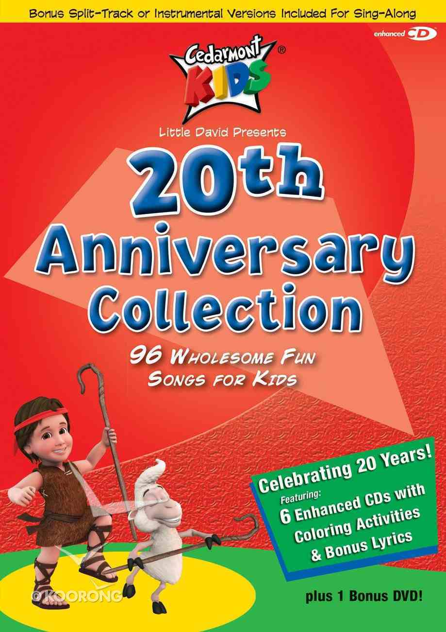 Cedarmont Kids 20Th Anniversary Collection (6 Cds) CD