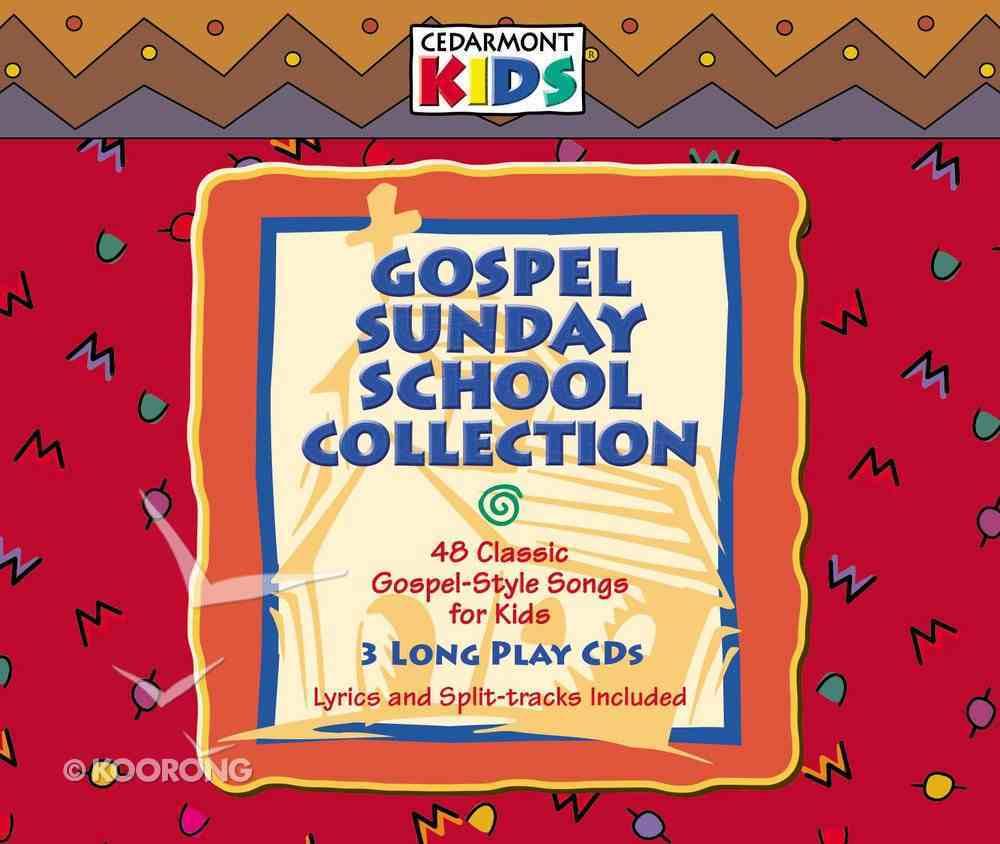Cedarmont Kids: Gospel Sunday School Collection (3 Cds) CD
