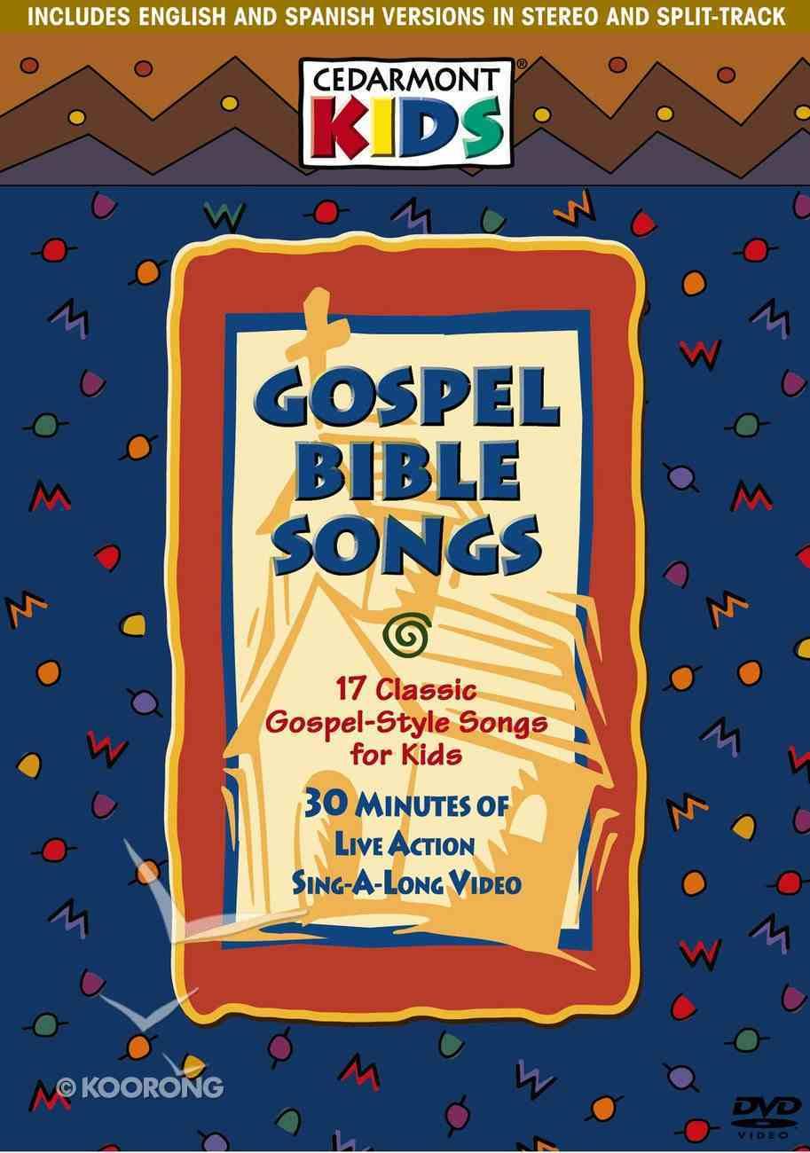 Gospel Bible Songs (Kids Classics Series) DVD