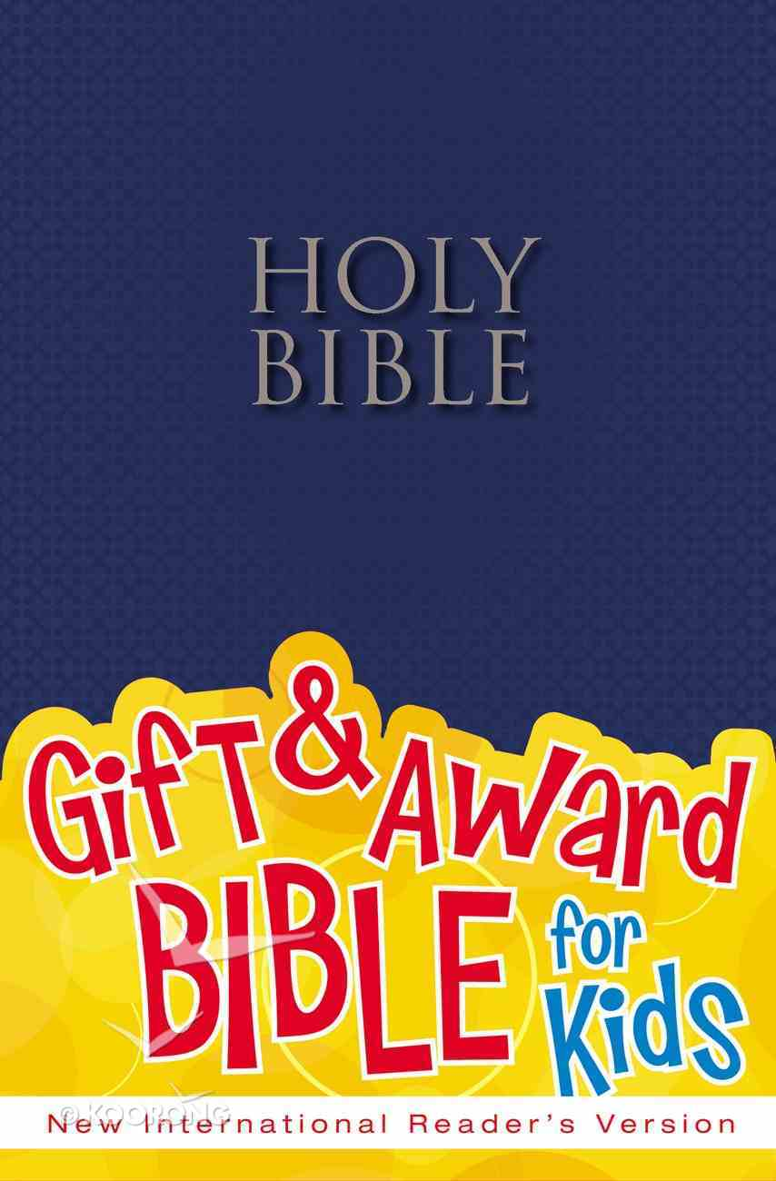 NIRV Gift & Award Bible Blue Paperback