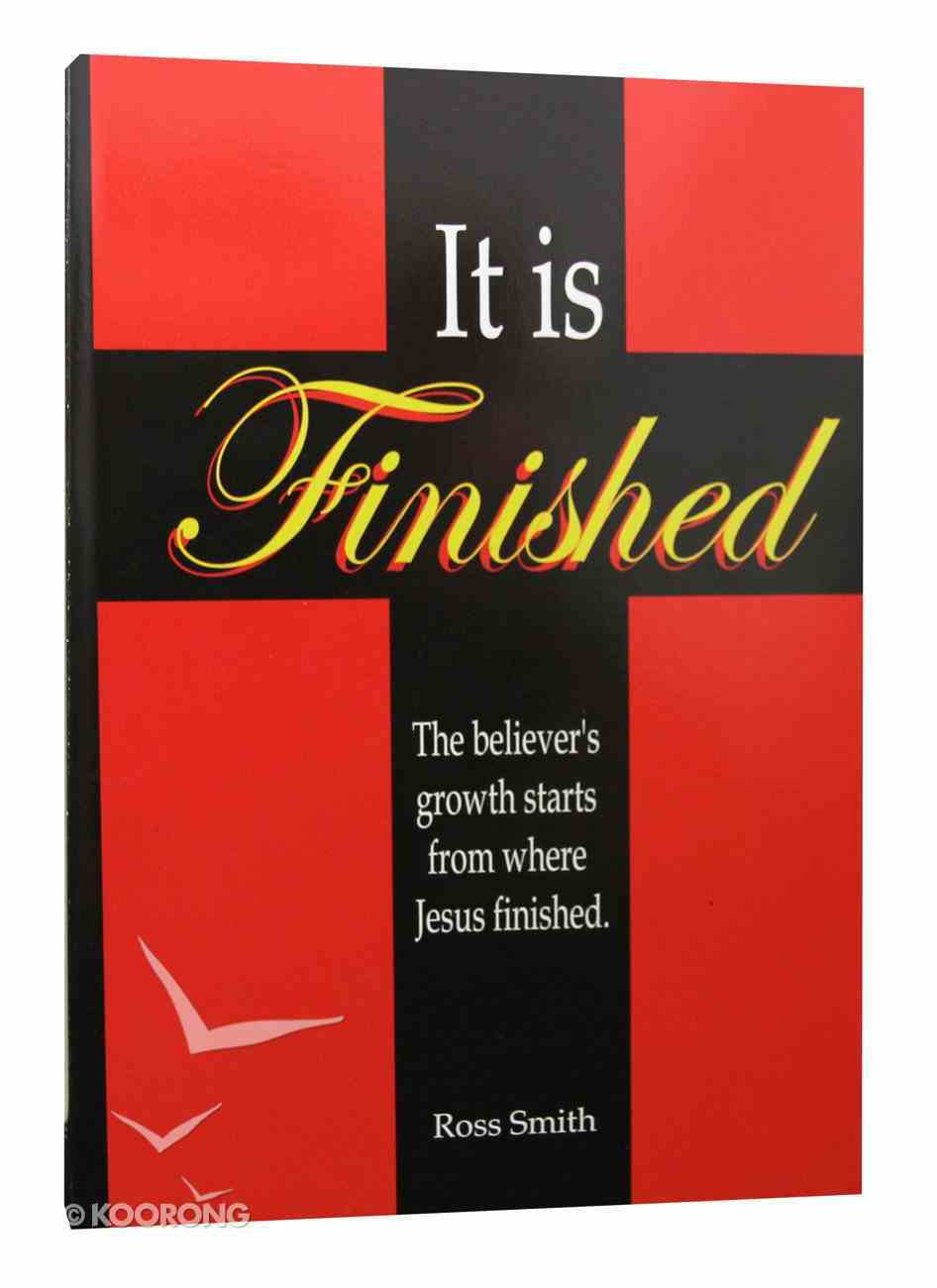It is Finished Paperback