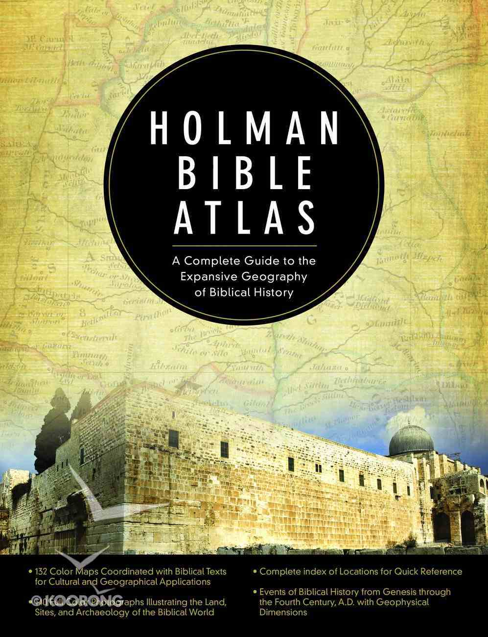 Holman Bible Atlas Hardback