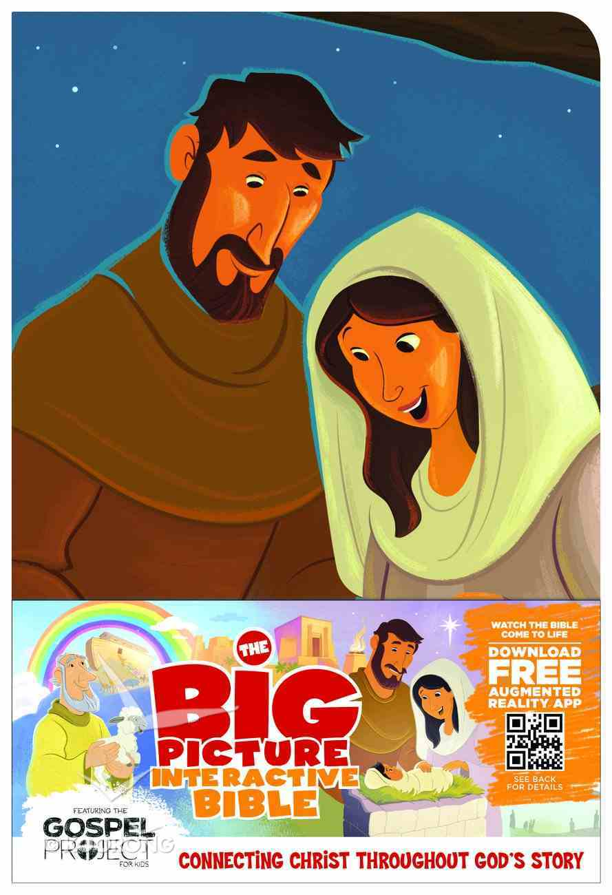 HCSB the Big Picture Interactive Bible For Kids Jesus Leathertouch Premium Imitation Leather