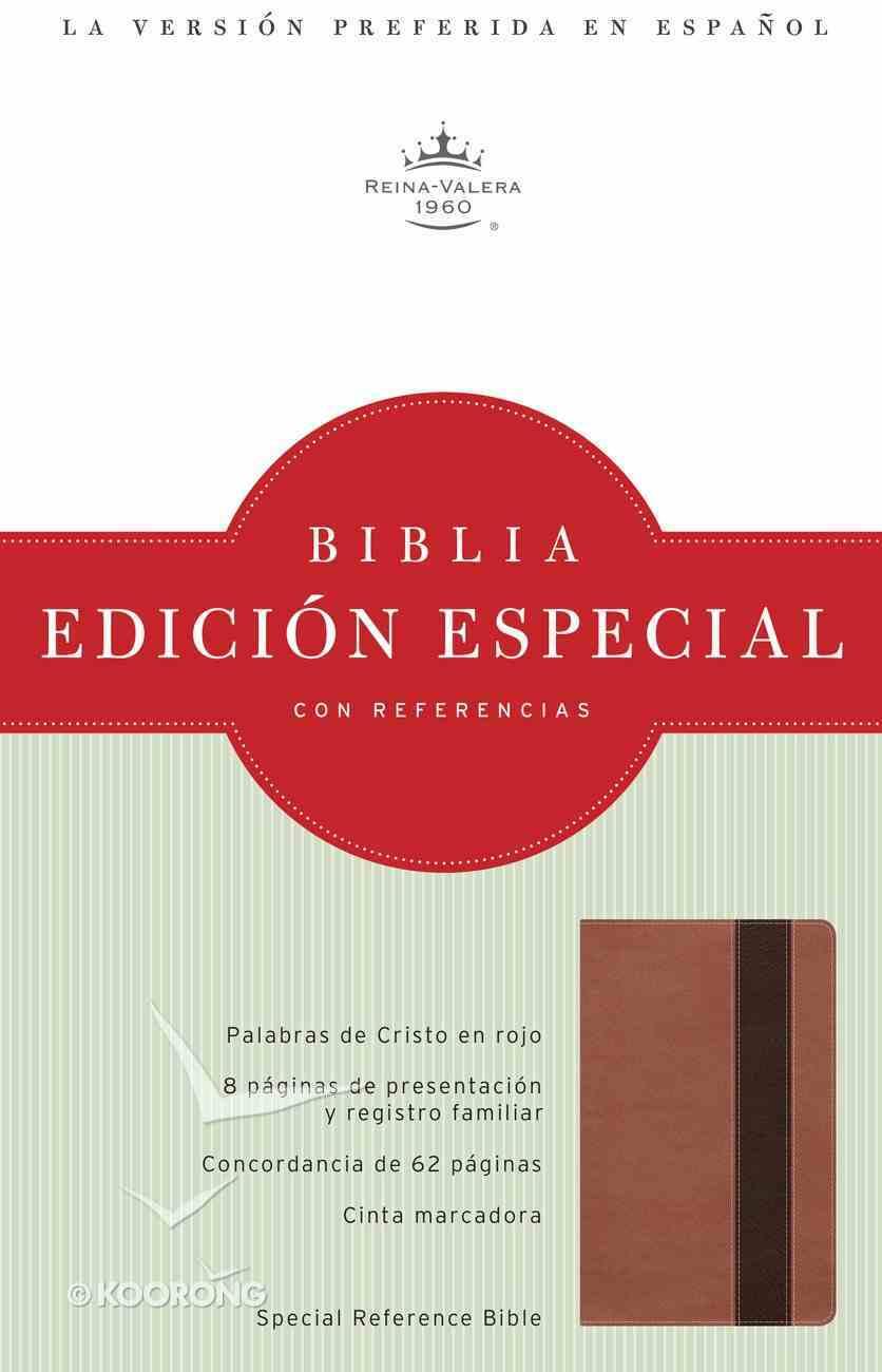 Rvr 1960 Edicion Especial Con Referencias, Cobre/Marron Profundo Simil Piel Imitation Leather