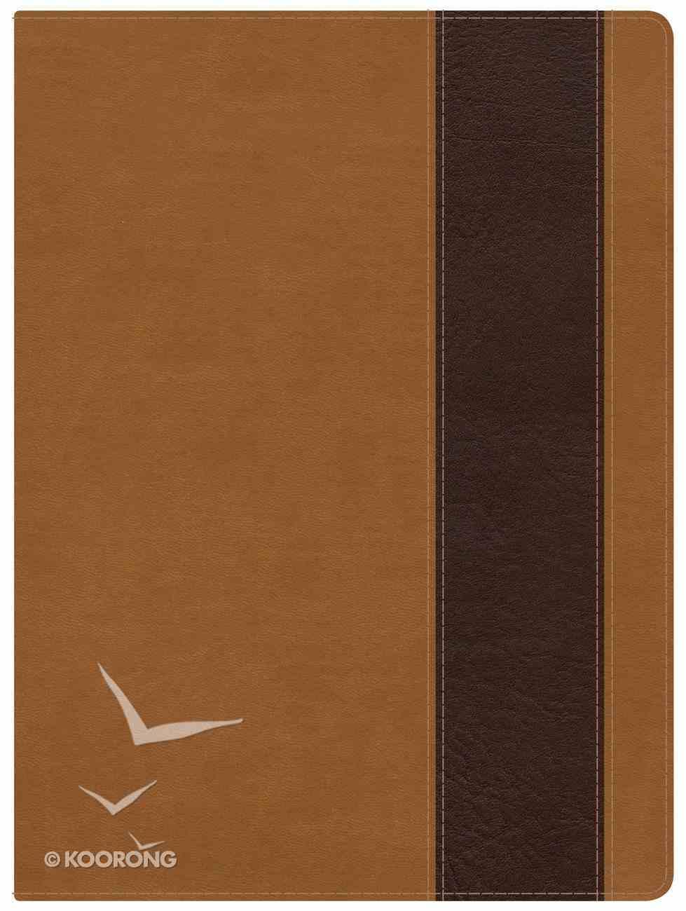 NKJV Holman Study Bible Suede/Chocolate Imitation Leather