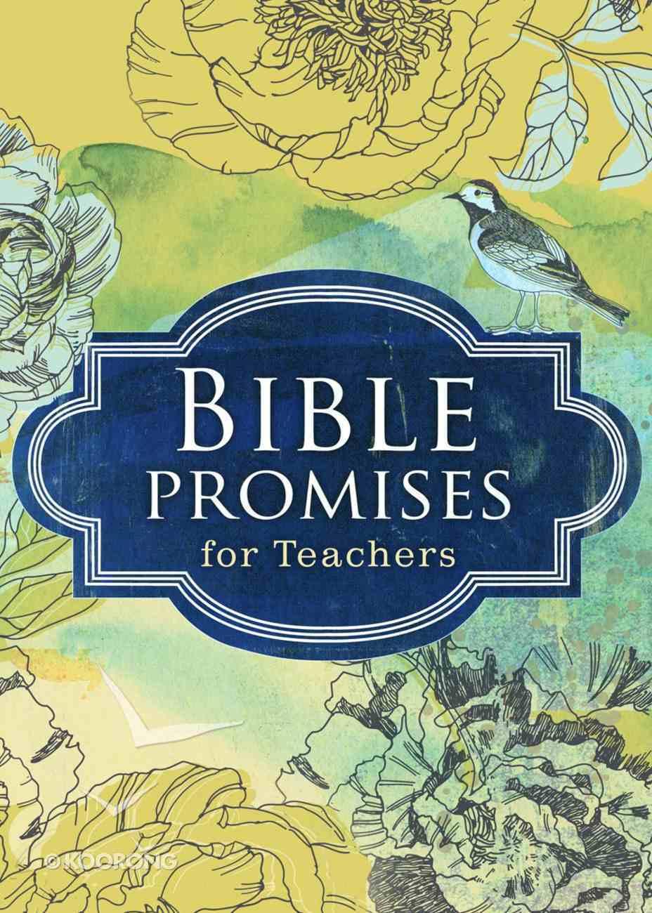 Bible Promises For Teachers (Hcsb) Hardback