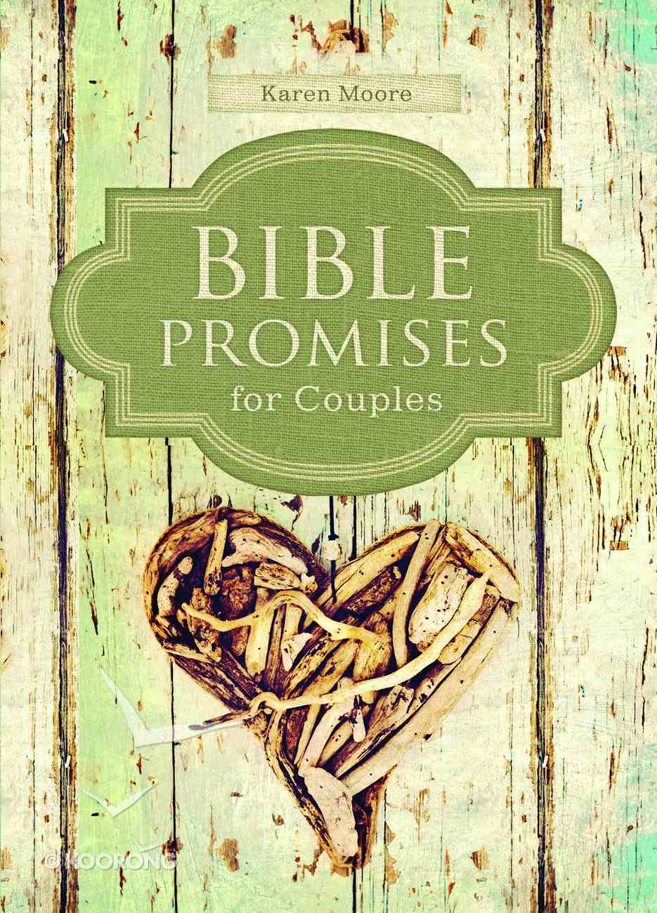 Bible Promises For Couples Hardback