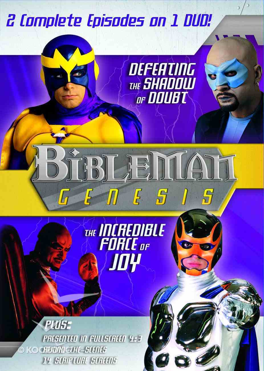Bibleman Genesis #02 (2in1) (Bibleman Genesis Series) DVD