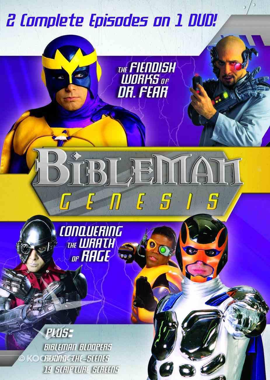 Bibleman Genesis #03 (2 in 1) (Bibleman Genesis Series) DVD