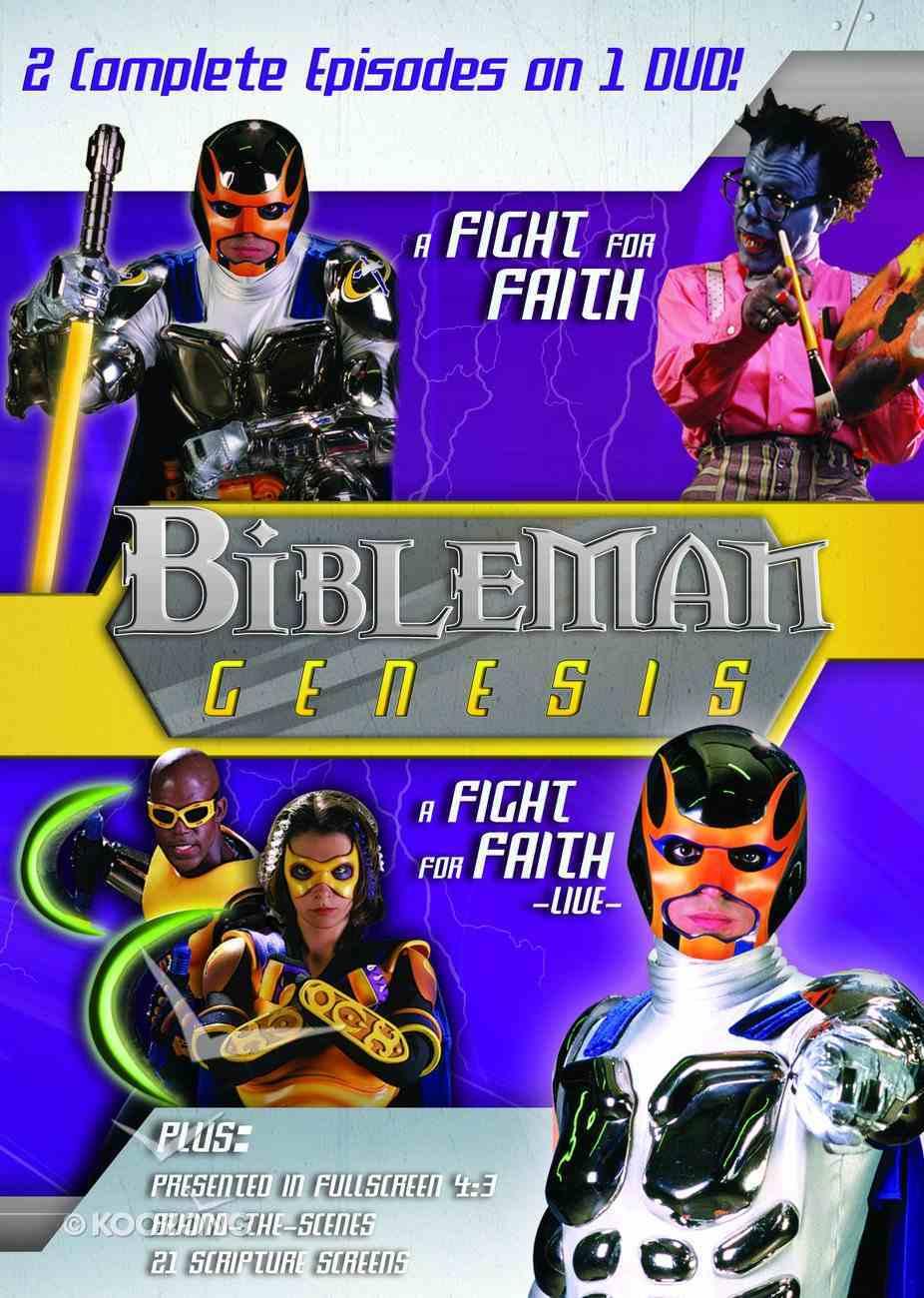 Bibleman Genesis #07 (2in1) (Bibleman Genesis Series) DVD