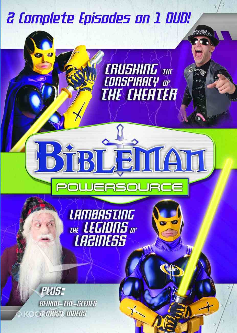 Bibleman Powersource (2in1) (Bibleman Powersource Series) DVD