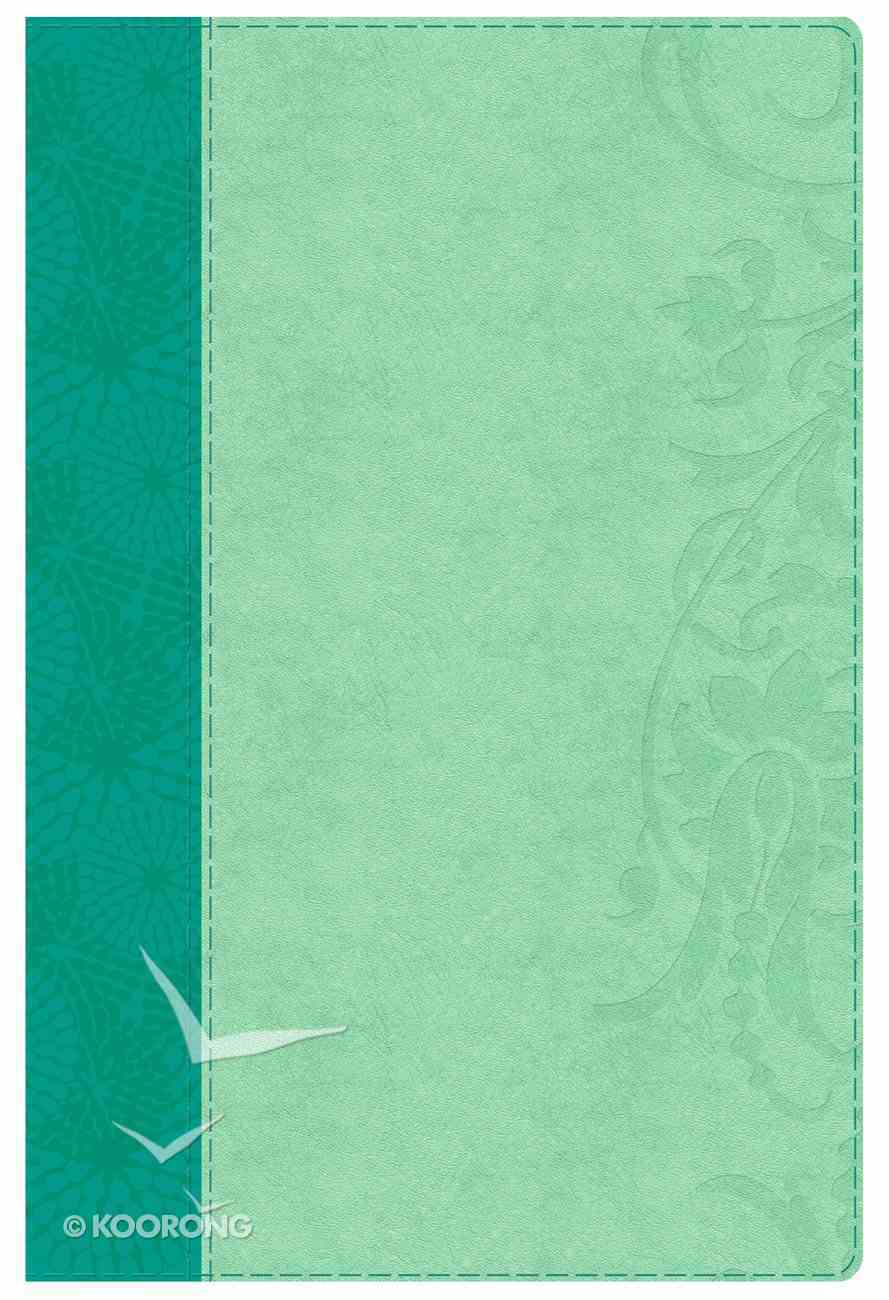 HCSB Study Bible For Women Indexed Teal/Aqua Imitation Leather
