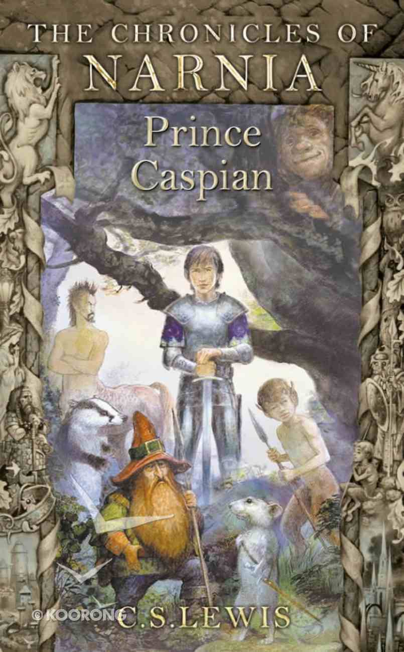 Narnia #04: Prince Caspian (A Format) (#04 in Chronicles Of Narnia Series) Paperback