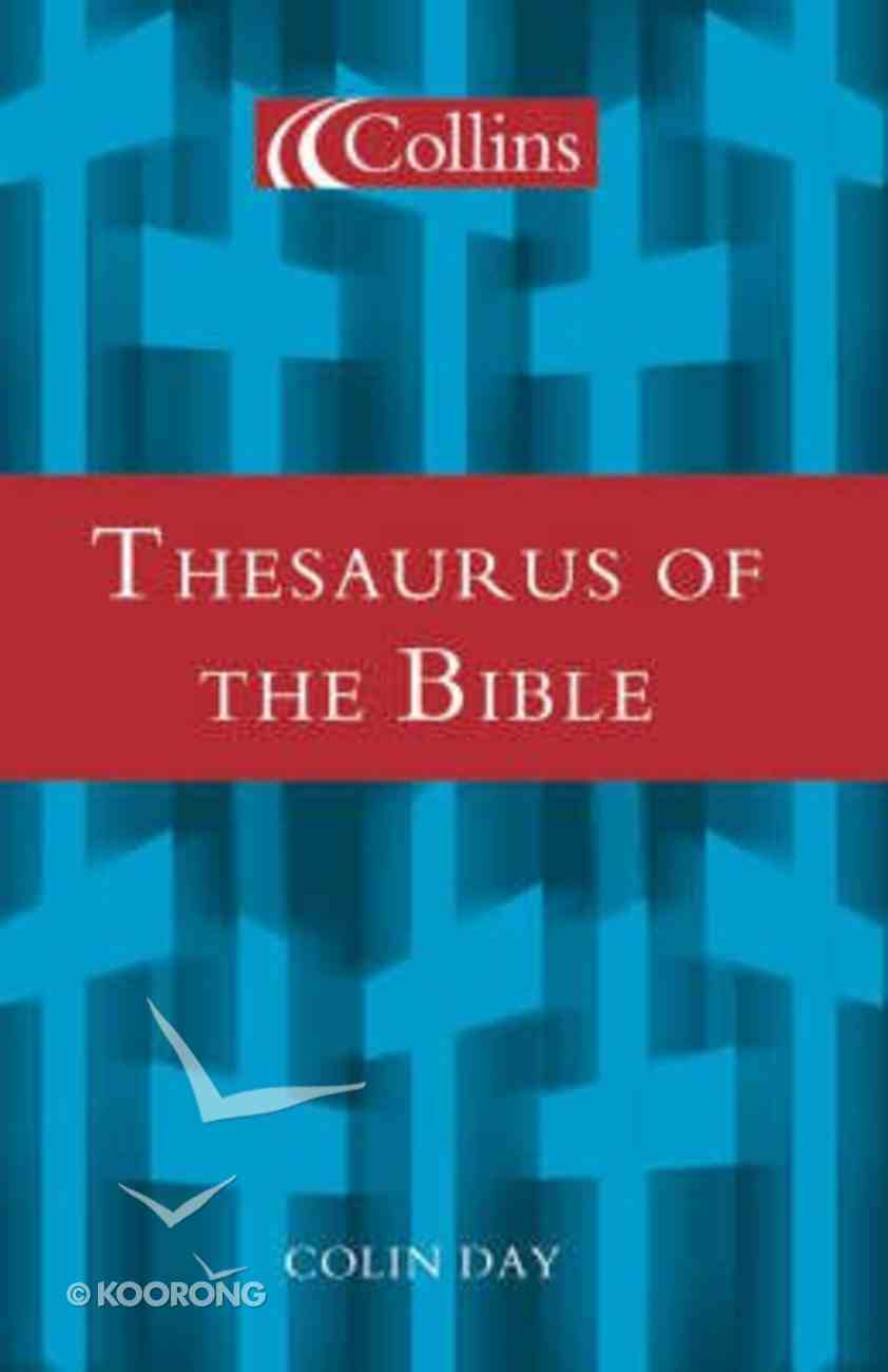 Collins Thesaurus of the Bible Hardback