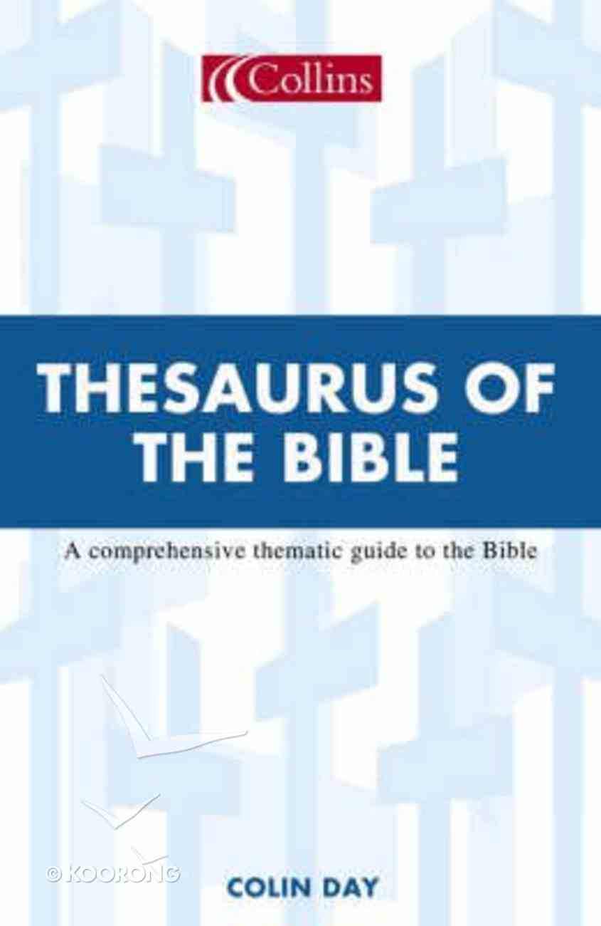 Collins Thesaurus of the Bible Paperback
