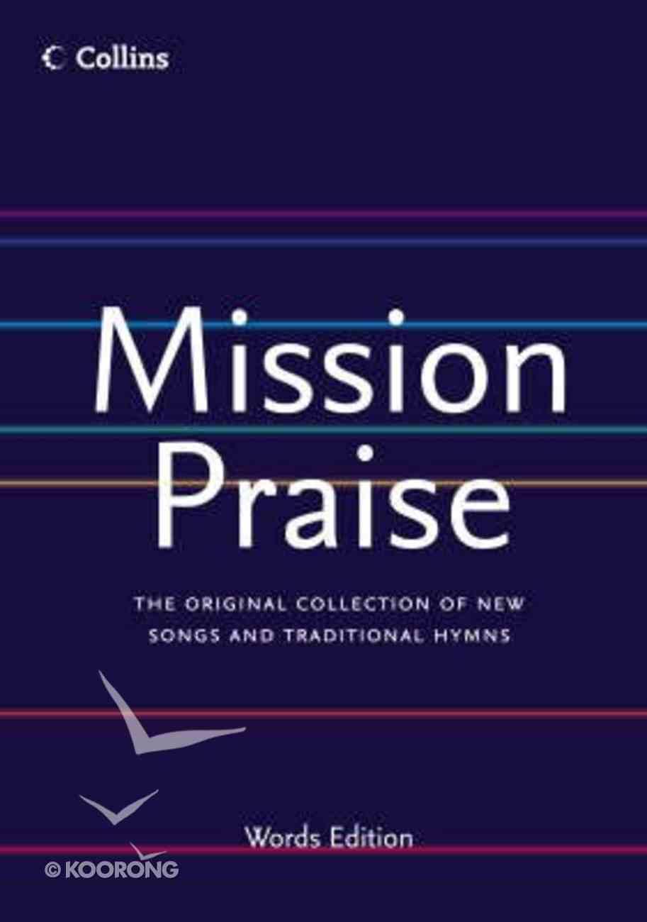Mission Praise Words Edition Paperback