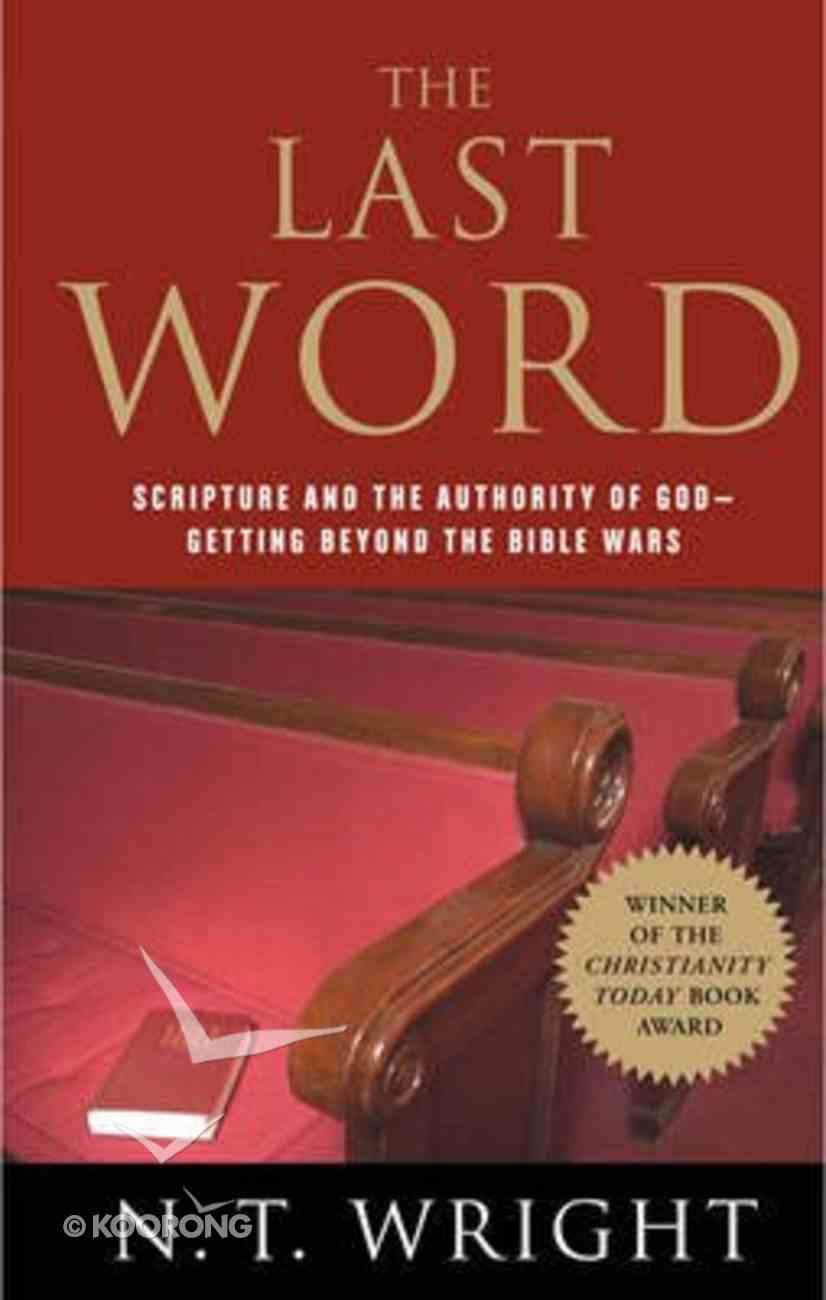 The Last Word Hardback