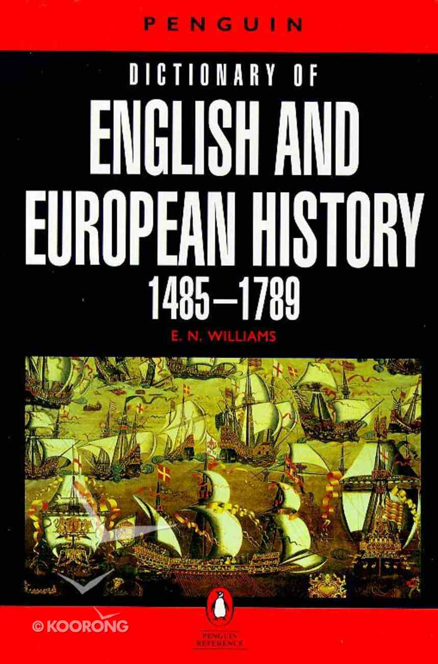 Penguin Dictionary of English and European History Paperback