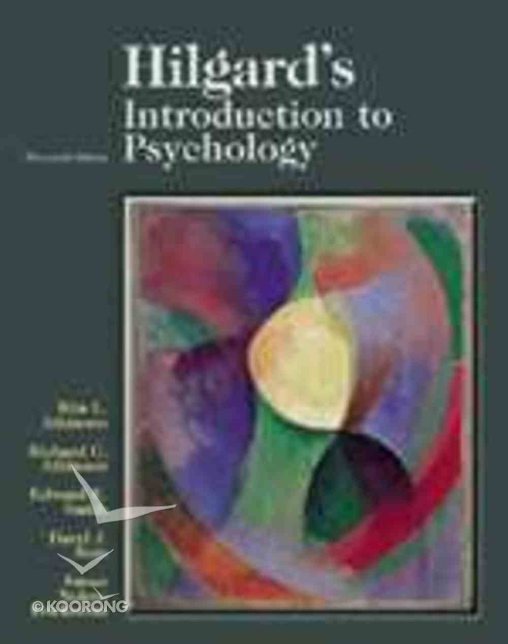 Introduction to Psychology (13th Edition) Paperback