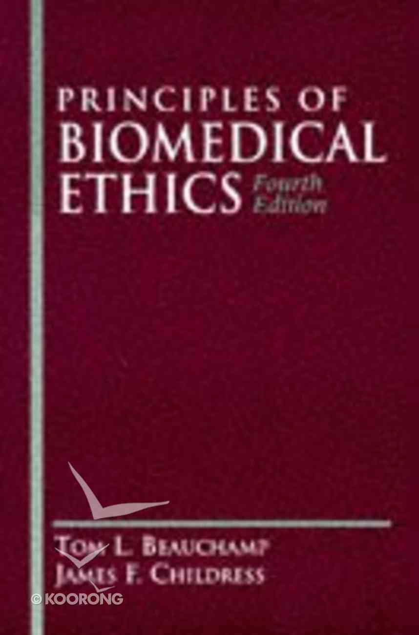 Principles of Biomedical Ethics Paperback