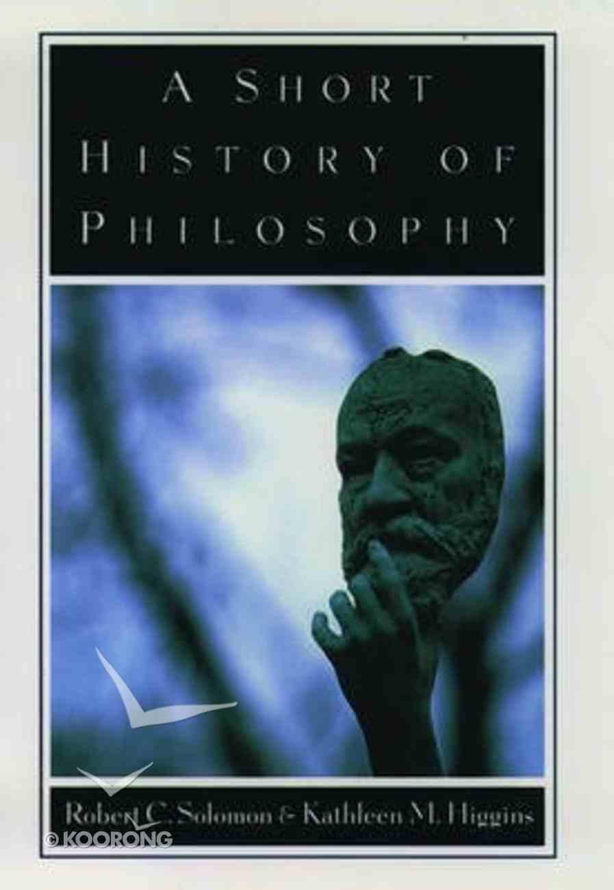 Short History of Philosophy Hardback