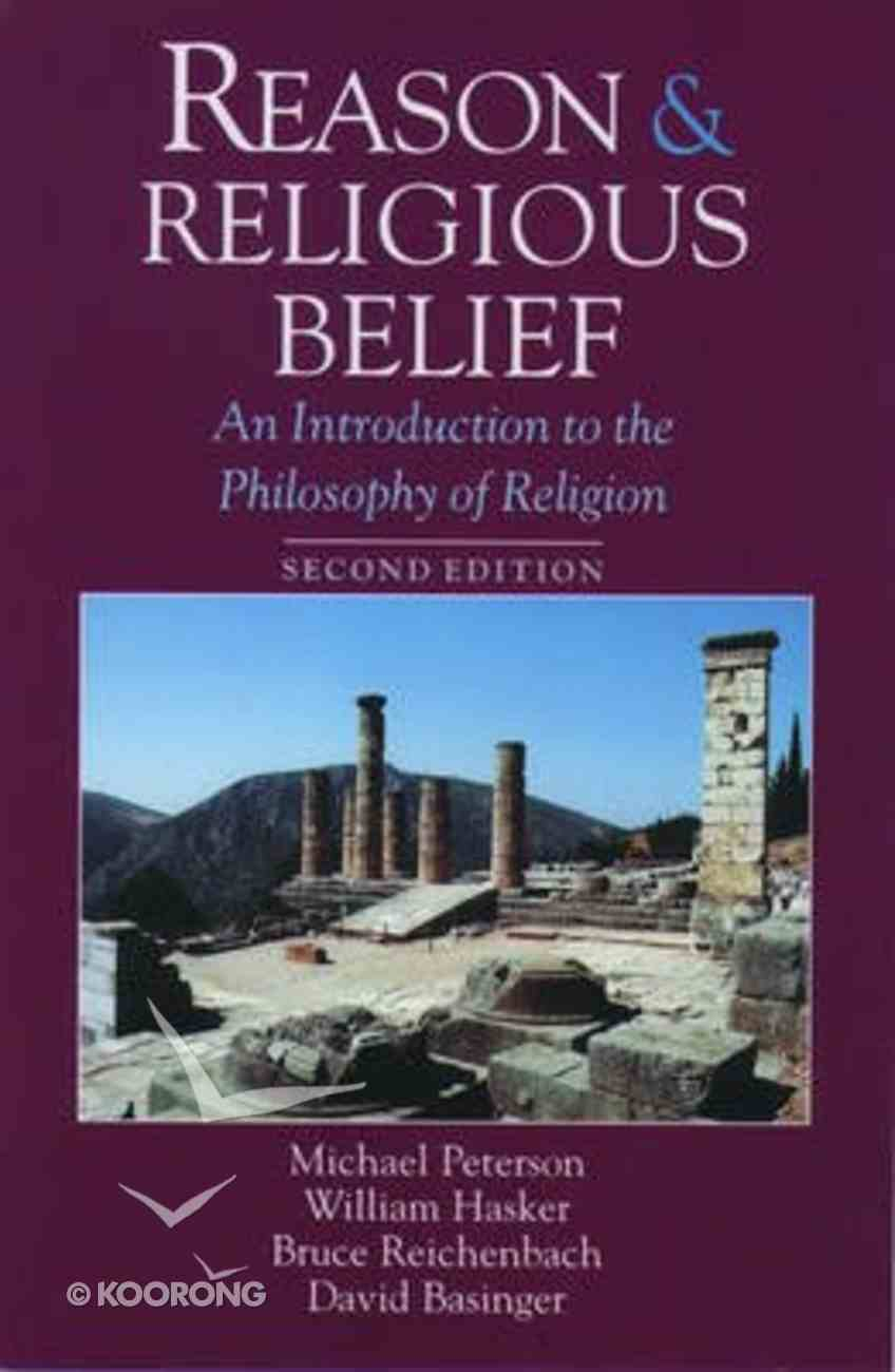 Reason and Religious Belief (2nd Edition) Hardback