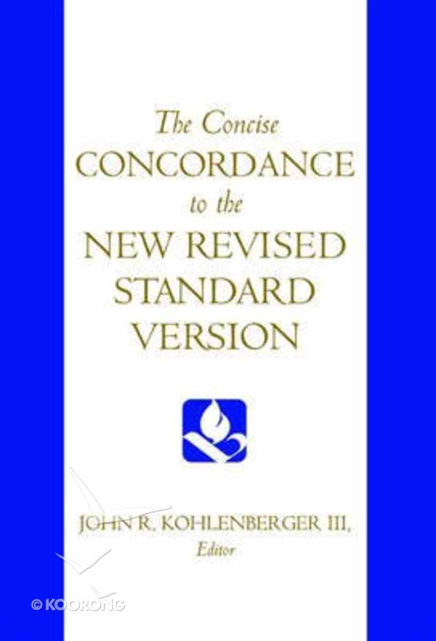 NRSV Concise Concordance Hardback