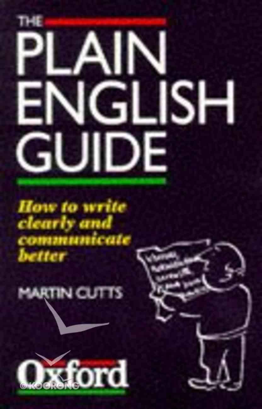 Plain English Guide ,The Paperback