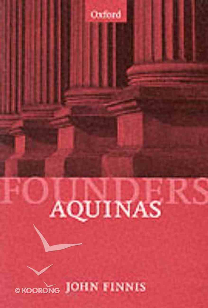 Aquinas Paperback