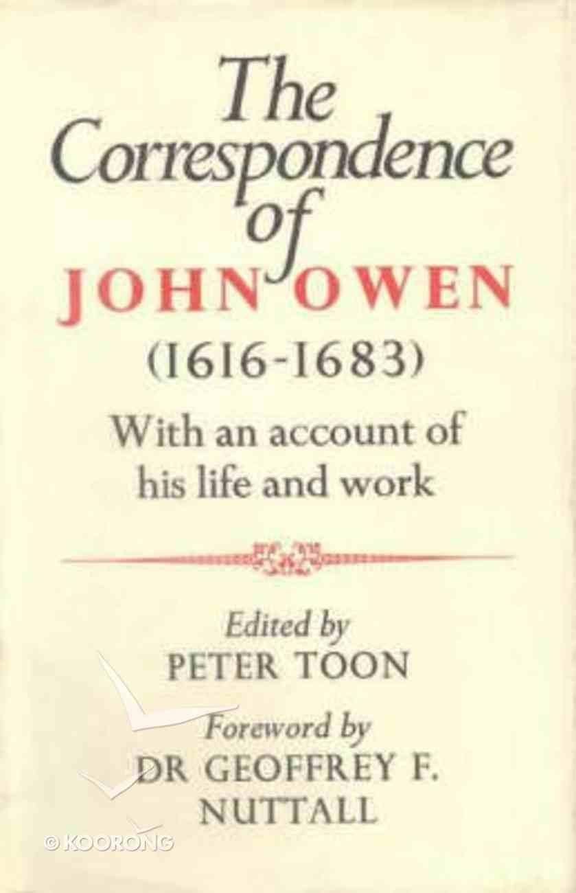 The Correspondence of John Owen Hardback