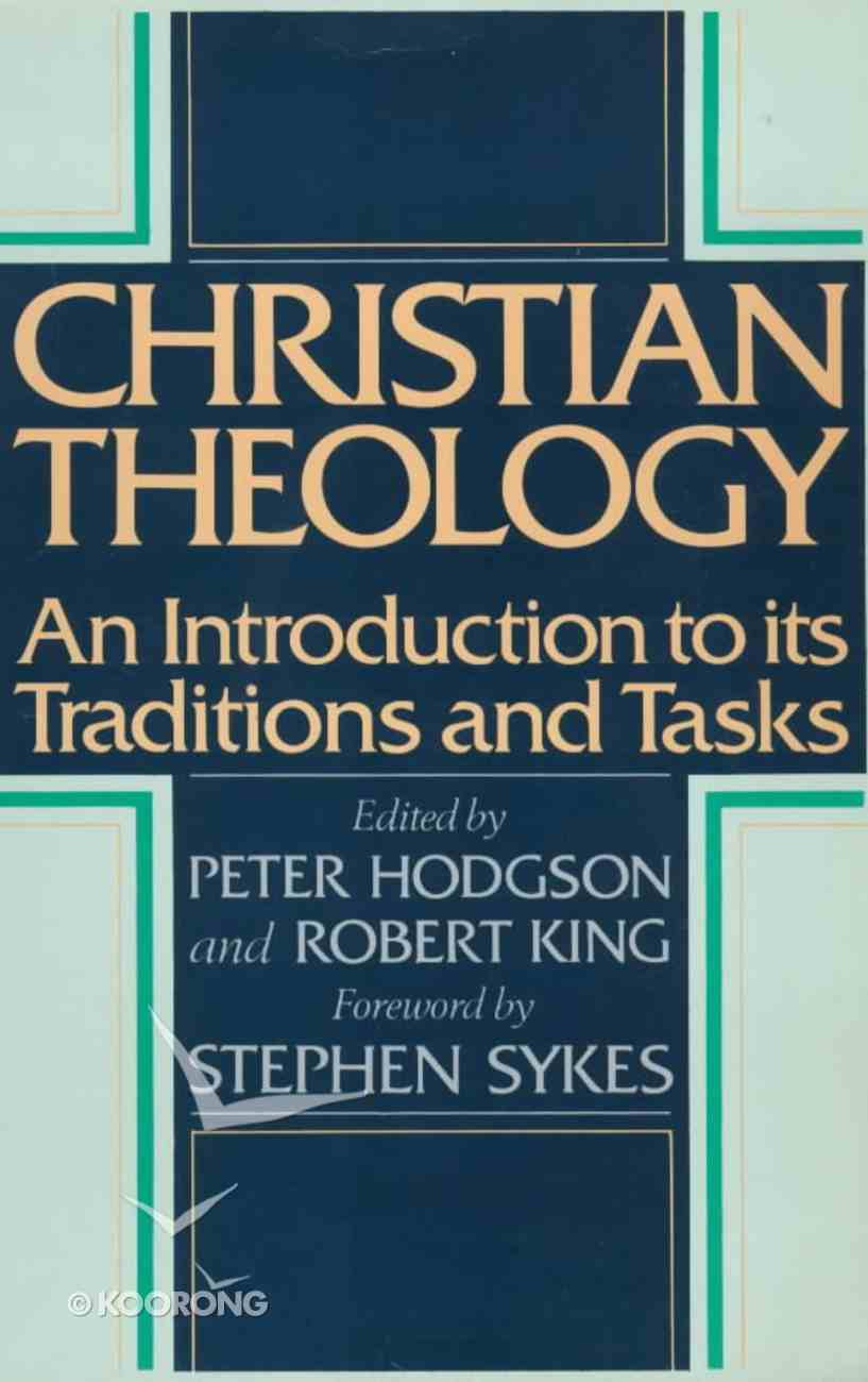 Christian Theology: An Introduction Paperback