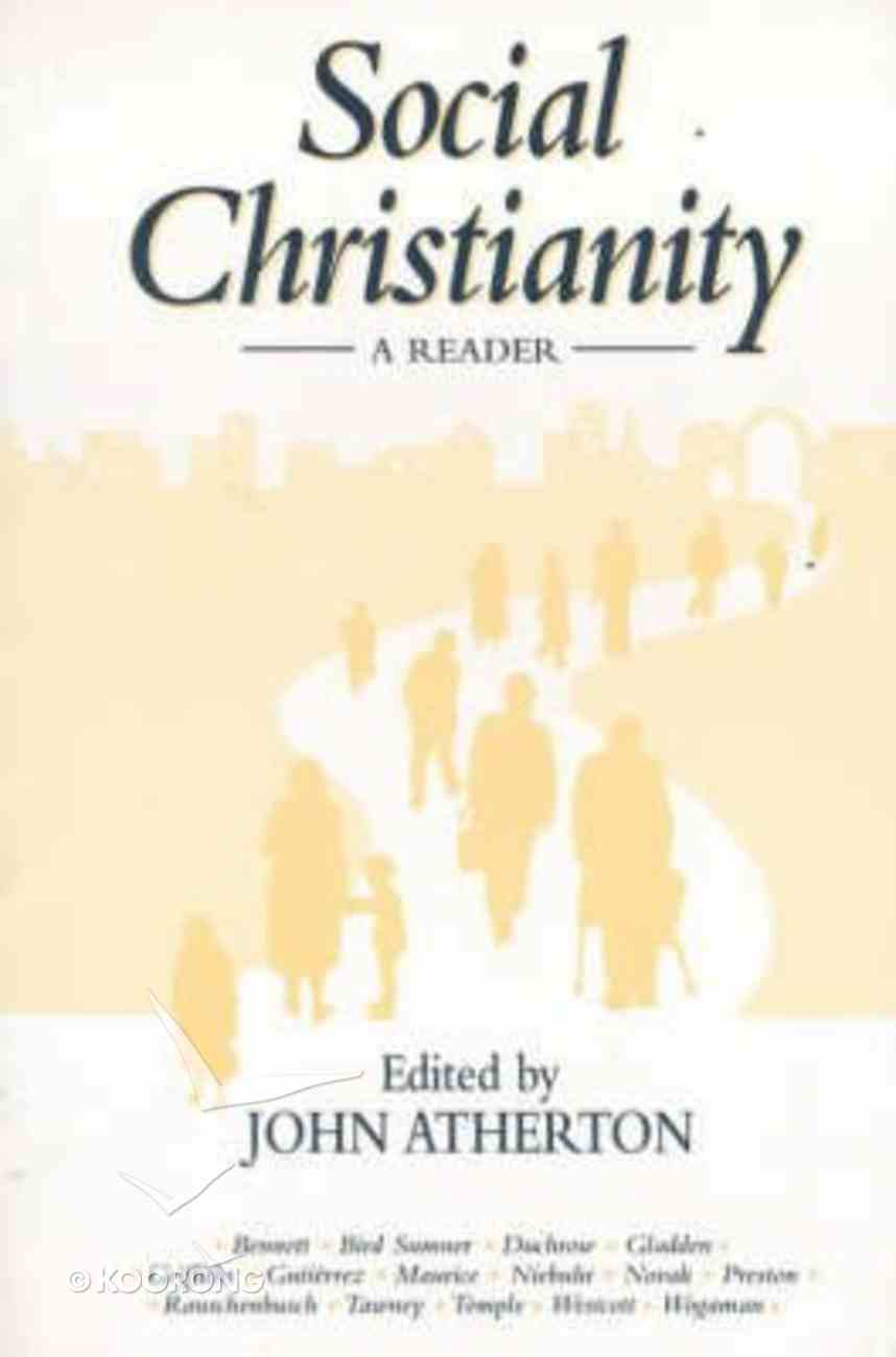 Social Christianity: A Reader Paperback