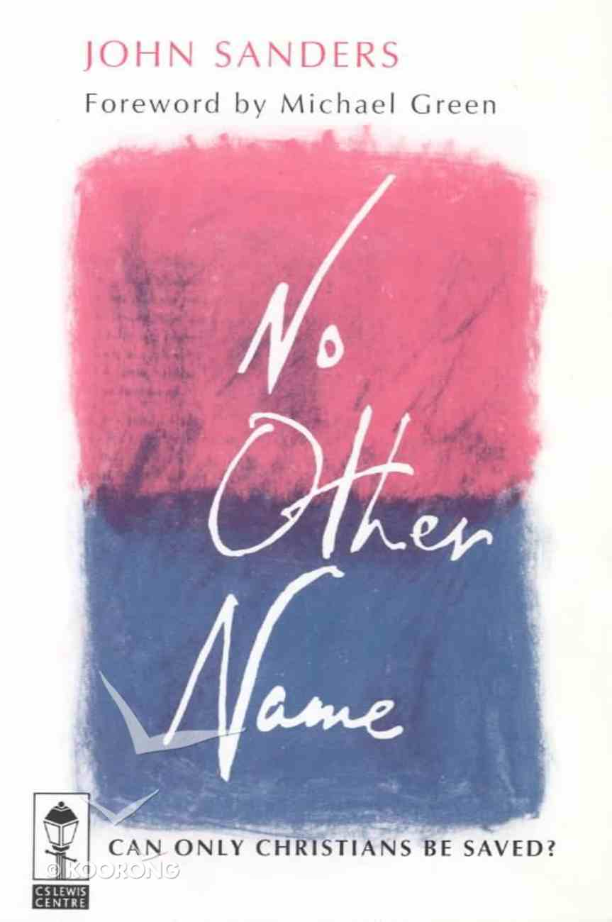 No Other Name Paperback