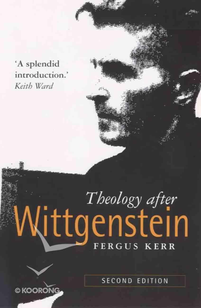 Theology After Wittgenstein Paperback