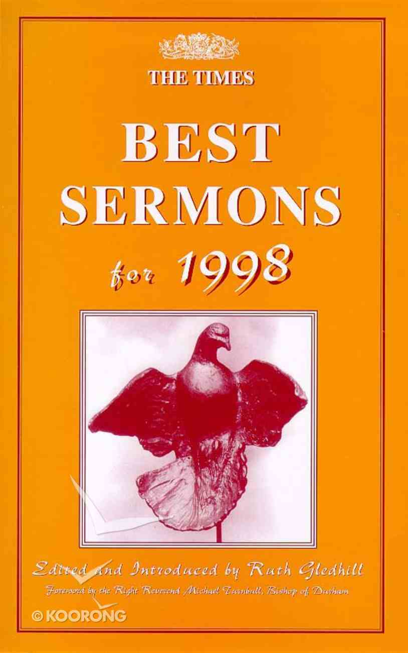 Times Best Sermons For 1998 Paperback