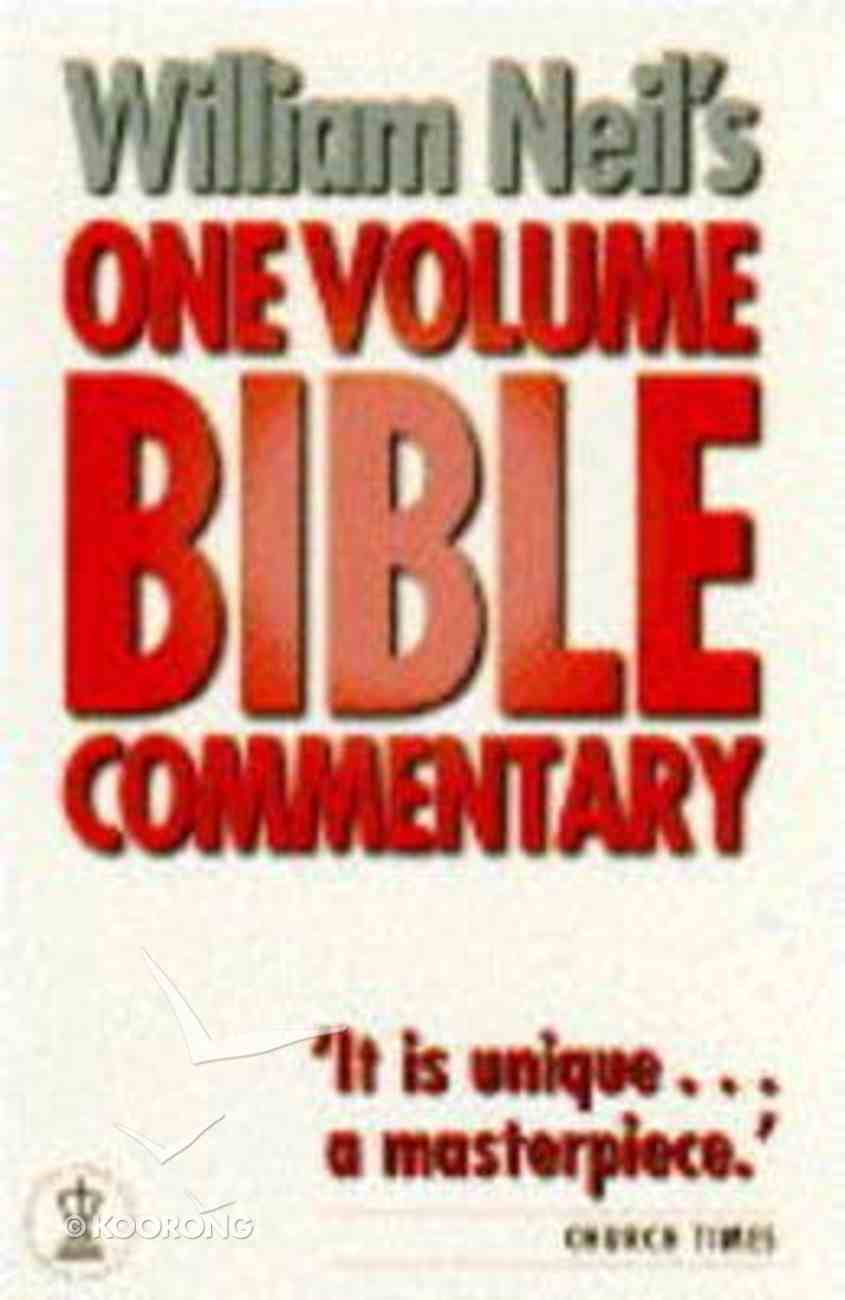 One Volume Bible Commentary Paperback